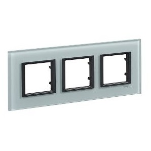Framework Only Class 3 elements Crystal Gray SCHNEIDER MGU68.006.7C3