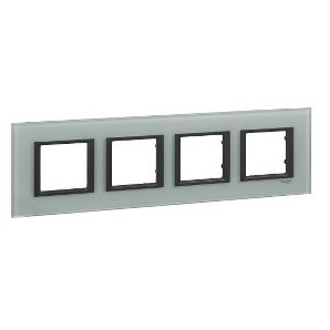 Framework Only Class 4 elements Crystal Gray SCHNEIDER MGU68.008.7C3