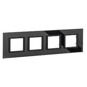 Framework Only Class 4 elements Black Mirror SCHNEIDER MGU68.008.7C1