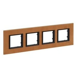 Framework Only Class 4 elements, Leather-Sahara SCHNEIDER MGU68.008.7P1