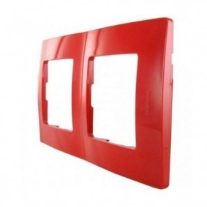 Legrand Niloe - NL-PLATE, 2 Items RED LEGRAND 665022