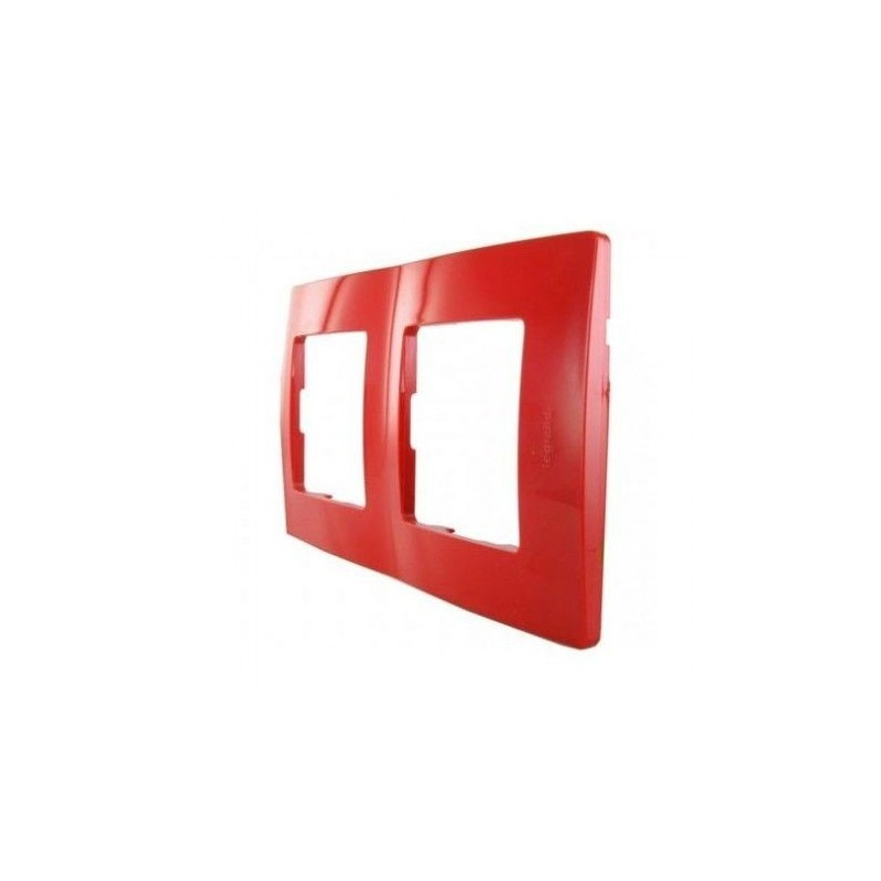 NL-PLATE, 2 Items RED LEGRAND 665022