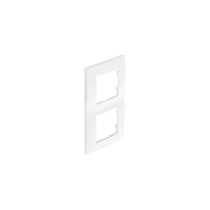 NL-PLATE 2-gang WHITE LEGRAND 665002