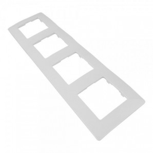 Legrand Niloe - Plate 4 elements white LEGRAND NILOÉ 665004