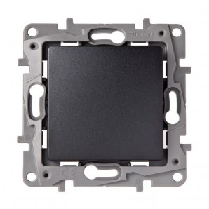 Switch 1p 10a anthracite LEGRAND NILOÉ 665401