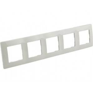 Legrand Niloe - Plate 5 white items LEGRAND NILOÉ 665005