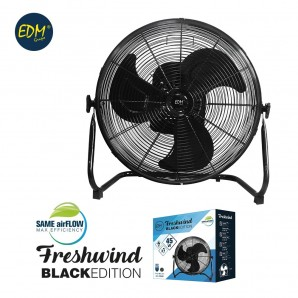 Fan industrial oscillating ø35cm 45w black series edm EDM 33946