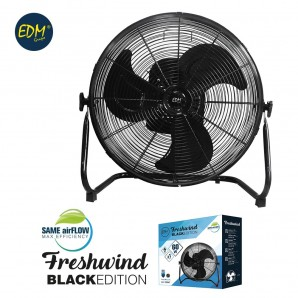 Fan industrial oscillating ø40cm 60w black series edm EDM 33947