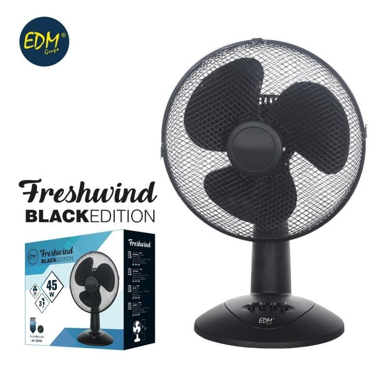 Fan desktop black 45w black series edm EDM 33949