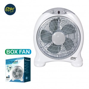 Ventilador box fan 45w 2018 series EDM 33951