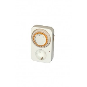 Programmable - Timer mechanical daily 24 hours - blister GSC 0400114