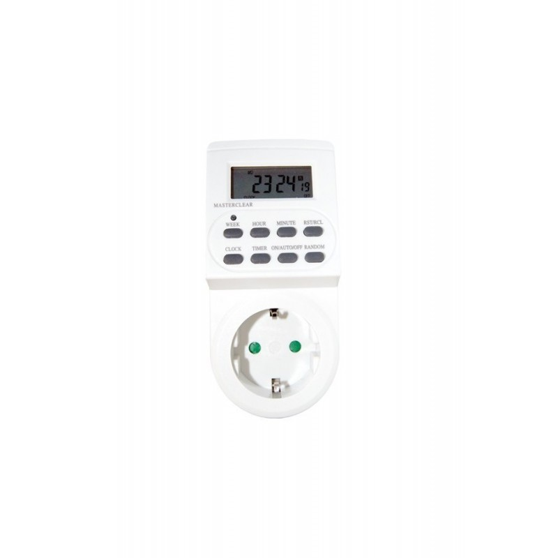 Digital timer daily/weekly - blister GSC 0400115