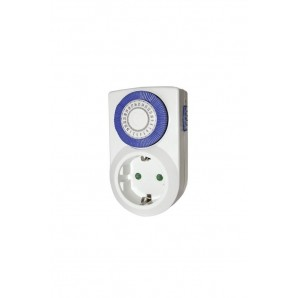 Programmable - Mini-timer mechanical daily 24 hours - blister GSC 0401240