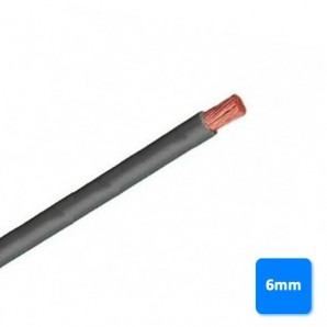 Roll of cable-free of halogen-6mm grey BY the METRE H07Z1-K AS 750V