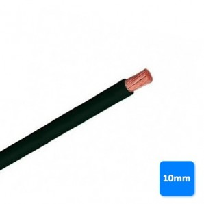 Electrical Cable by the metre - Roll of cable-free of halogen-10mm black, PER METRE H07Z1-K AS 750V