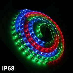 Strisce Led - Striscia Led 5m SMD5050 7.2 W/m RGB Multicolore IP68 24V GSC 1504599