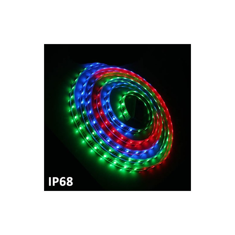 Led strip 5m SMD5050 7.2 W/m RGB Multicolor IP68 24V GSC 1504599