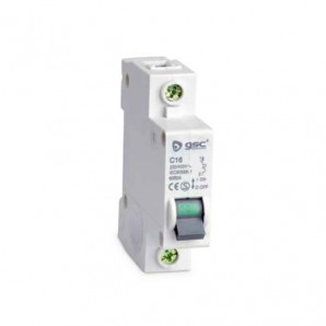 Circuit breaker narrow 1P 16A curve C GSC 0403650