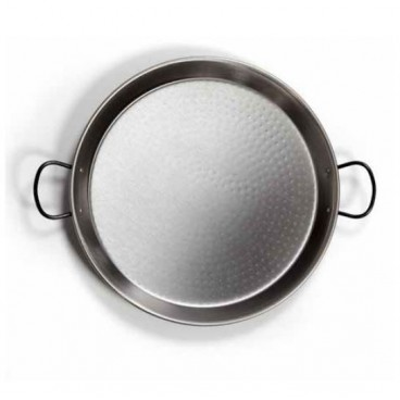 Paella pan steel polished ø420mm 10 servings GSC 2701794