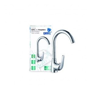 Wall and countertop - Single lever mixer sink curved series Niagara GSC 3702414