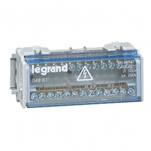 Accessories for electric boxes - Dealer mudular monoblock 2P 40A 6 modules Legrand 4881