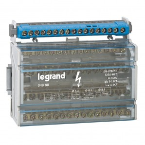 Accessories for electric boxes - Dealer tetrapolar 4P 125A 8 modules Legrand 4888