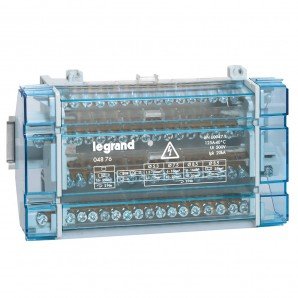 Accessories for electric boxes - Dealer tetrapolar 4P 125A 10 modules Legrand 4876