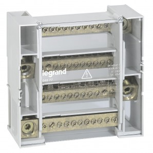 Accessories for electric boxes - Dealer tetrapolar 4P 250A 9 modules Legrand 4877
