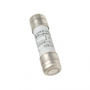Fuse cylindrical 10x38 without indicator 1A B212061J