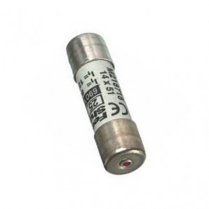 Fuse holder and fuses - Fuse cylindrical 14x51 without indicator 16A A211554J