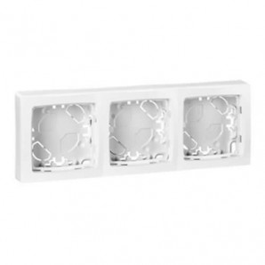 Legrand Oteo - Frame 3 elements white Legrand Oteo