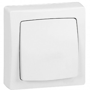 Legrand Oteo - Switch switch narrow monoblock 32x75mm Legrand Oteo 086084