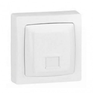 Legrand Oteo - Base of telephone RJ12 white monoblock Legrand Oteo 086034