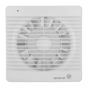 Bathroom Extractor fan 120mm square 2200RPM DECOR300C Soler & Palau