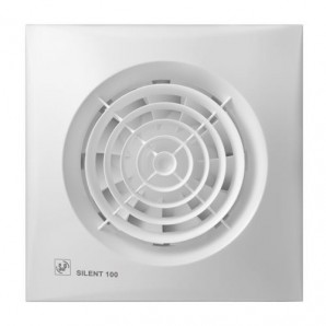 Bathroom Extractor fan white 8W Silent Soler & Palau 100CZ