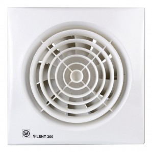 Bathroom Extractor fan 29W 120mm white Silent Soler & Palau 300CZ