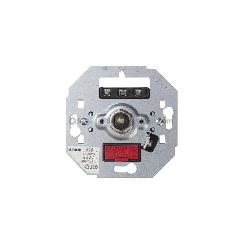 Regulador electrónido de tensión (interruptor/conmutador) 40-500W Simon 75313-39