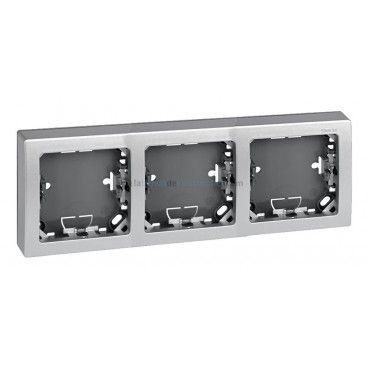 Frame of 3 elements aluminum Simon 73 LOFT 73630-63