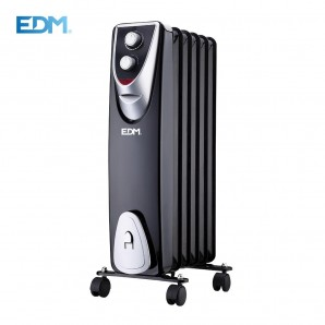 "RADIATOR ""BLACK EDITION"" WITHOUT OIL 6 ELEMENTS 400/600/1.000 W EDM"