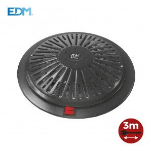 Brazier electric, with 3m of cable 400/500/900W EDM 07102