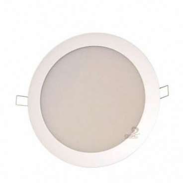Downlight LED empotrable redondo 20W 1800lm 6000K blanco GSC 0702132