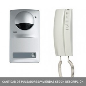 Kit portieri e video door entry system - Kit porter 1 viv. TEGUI 375710