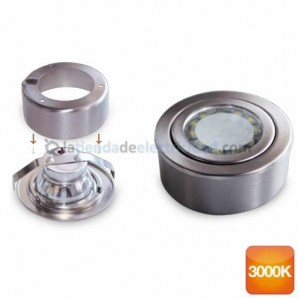 Round ring surface and recessed LED 3W 285lm 3000K GSC 0,703,408