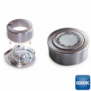 Round ring surface and recessed LED 3W 285lm 6000K GSC 0,703,409