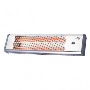 Quartz heater chrome bathroom EDM 600-1200W 07108