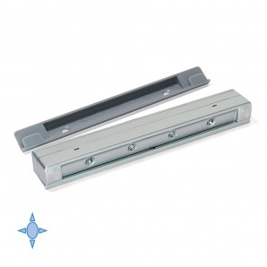 Emuca Drawled battery-powered LED light for inside drawers with vibration sensor and cool light