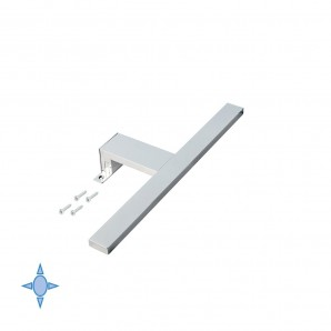 Lighting for bathroom - Emuca Aquarius A 300 mm LED wall light with cool white light
