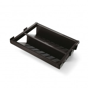 Comprar Emuca Moka shoe rack drawer for a 600 mm unit in a mocha painted finish online