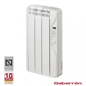 Radiators of low consumption - Emisor térmico 3 elementos 375W con fluido Gabrrón RF3E 90500375