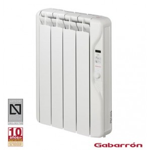 Radiators of low consumption - Emisor térmico 4 elementos 500W con fluido Gabrrón RF3E 90500505